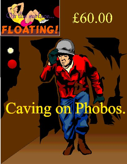 Caving on Phobos